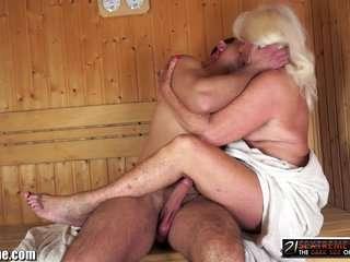 Бабушки в сауне сексвидео